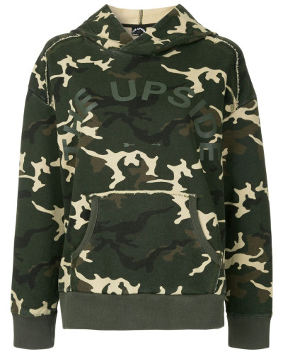 Camouflage-Kapuzenjacke