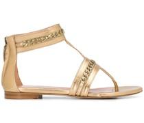 Sandalen mit Zierketten