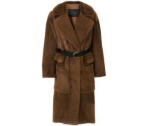 Langer Mantel mit mehreren Taschen