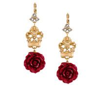 Ohrringe mit Rosen