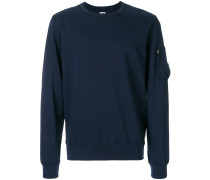 sleeve pocket detail sweatshirt