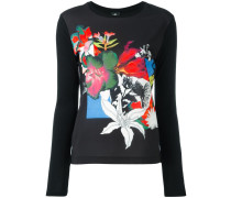 Pullover mit Blumen-Print - women