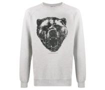 Sweatshirt mit Bären-Print