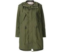 boxy parka coat