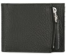 - zip compartment billfold wallet - men - Leder