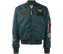 patches MA-1 bomber jacket