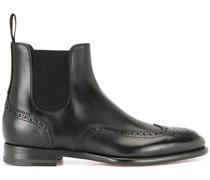 Chelsea-Boots im Budapester-Look