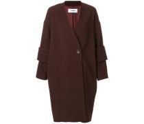 double cuff detail coat