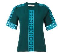 cut-off detail blouse