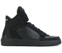 Inspection hi-top platform sneakers