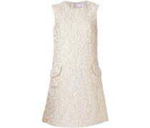Florales Jacquard-Kleid