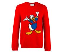 Intarsienpullover mit Donald Duck - men - Wolle