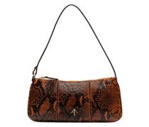 Pita snake-print shoulder bag