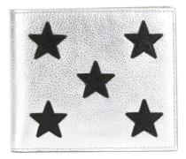 Portemonnaie mit Stern-Patches - men - Leder