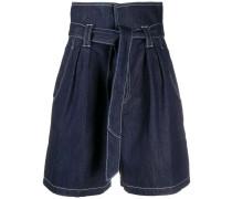 'Fontana' Shorts mit Paperbag-Taille