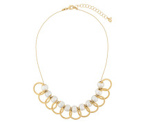 overlapping hoop necklace