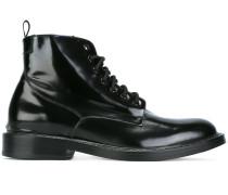 Glänzende Military-Stiefel