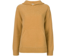 Kaschmir-Pullover mit Kapuze
