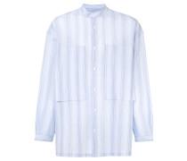 'Lineman' Hemd mit Mandarinkragen
