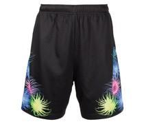 Sport-Shorts aus Mesh mit Deep Sea-Print