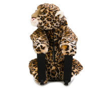 Rucksack im Leopard-Design