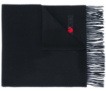 heart patch scarf