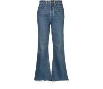 'Gabbie' Cropped-Jeans