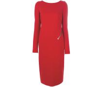 Schmales Kleid mit Reißverschluss