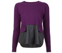 Wolloberteil mit Hemdeinsatz - women - Wolle - S