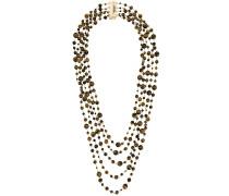 'Orti' Halskette mit Steinperlen