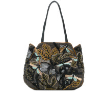 sequin embroidered bag
