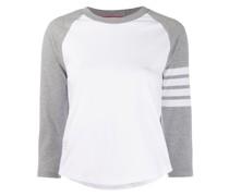 T-Shirt mit Zierstreifen