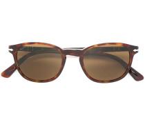 Rechteckige Sonnenbrille - unisex - Acetat - 50