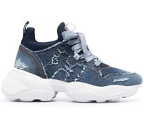 Interactive Sneakers mit dicker Sohle