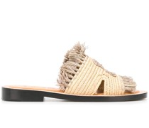 Sandalen aus Bast