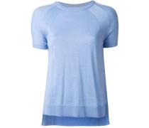 Gestricktes Kaschmir-T-Shirt
