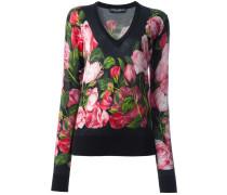 Pullover mit Rosen-Print - women