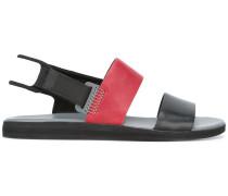 Flache Slingback-Sandalen - men - Leder/rubber