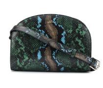 A.P.C. snakeprint curved shoulder bag
