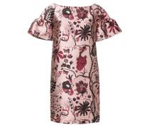 Kleid mit floraler Stickerei