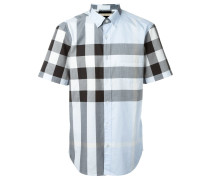 Hemd mit kurzen Ärmeln und Karomuster