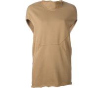 T-Shirt mit aufgerauten Kanten