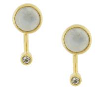 Gravitation moonstone and topaz earrings