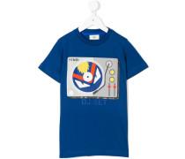 """T-Shirt mit """"DJ-Set""""-Print"""