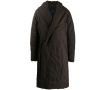 Mantel im Wickelstil