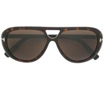 'Marley' Sonnenbrille - unisex - Acetat/metal