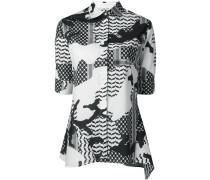 Hemd mit Camouflage-Print - women