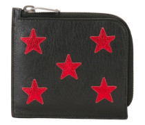 Portemonnaie mit aufgestickten Sternen