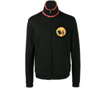 Trainingsjacke mit Shearling-Logo