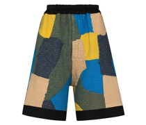 Knielange 'Silas' Patchwork-Shorts